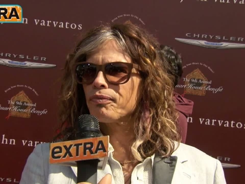 'Extra' Raw! At the John Varvatos Stuart House Benefit