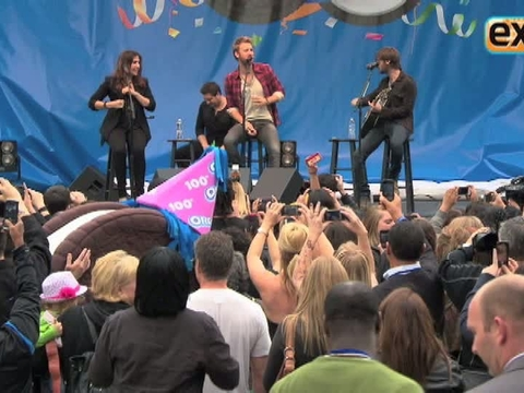 Lady Antebellum Performs at The Grove!