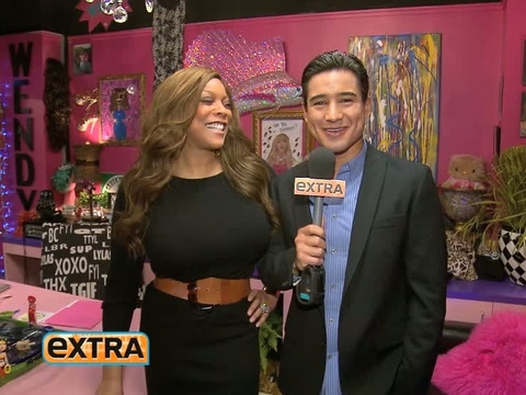 'Extra' Raw! Mario Lopez Backstage with Wendy Williams