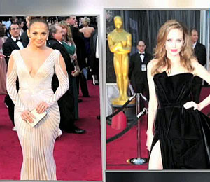 Video! Oscar Fashion: Black, White, Elegant and Sexy