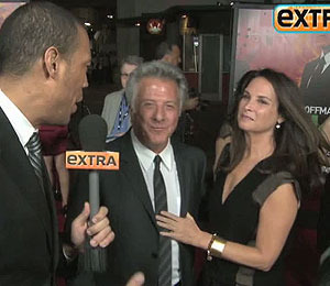 Lucky Man Dustin Hoffman Chats with 'Extra'