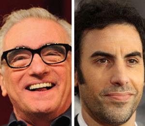 'Extra' Raw! Scorsese and Sacha Baron Cohen Talk 'Hugo'