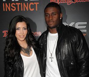 Kim Kardashian and Ex-Boyfriend Reggie Bush on Lunch Date
