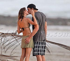 Gisele and Tom Brady Shake Off Super Bowl Loss in Costa Rica