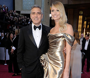 At the Oscars: George Clooney Predicted 'It's Going to Be a French Evening'