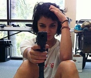 Rehearsal Pic! Vanessa Hudgens in 'Spring Break'