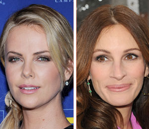 Evil Queen Face-Off: Charlize Theron vs. Julia Roberts