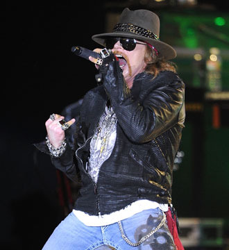Extra Scoop: Axl Says Ixnay to Rock Hall of Fame