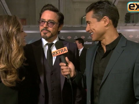 'Extra' Raw! Mario Plays Superheroes with 'The Avengers' Cast