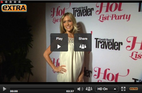 Video! At the Condé Nast Traveler Hot List Party