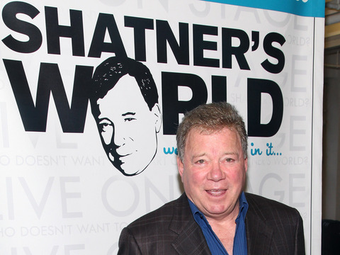 William Shatner Talks Horses at The Grove