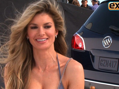 Video! Supermodel Marisa Miller in Bikini for Buick