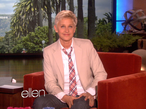 Ellen DeGeneres on President Obama's Support for Same-Sex Marriage