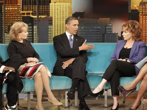 President Obama on 'The View': Gay Marriage, Bad Banks and 'Fifty Shades of…