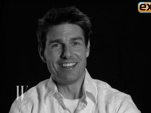 Tom Cruise in Sexy W Magazine Shoot
