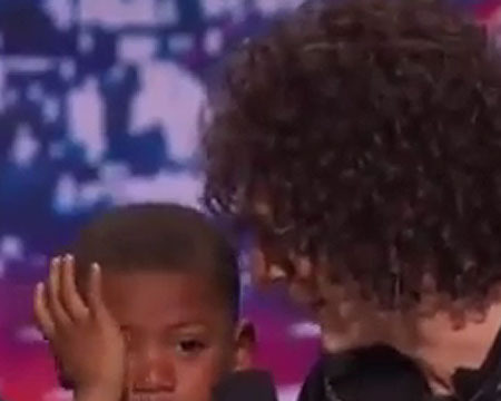 Howard Stern Breaks First Heart on 'AGT'... and His Own