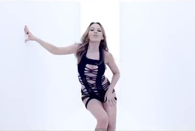 Kylie Minogue the Bomb in 'Timebomb' Video