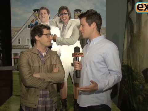 'Extra' Raw! Andy Samberg on Working with Idol Adam Sandler