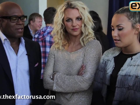Video! 'The X Factor' Judges Backstage in San Francisco