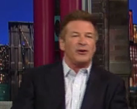 Clip! Alec Baldwin Tells Letterman What He Said to Photographer