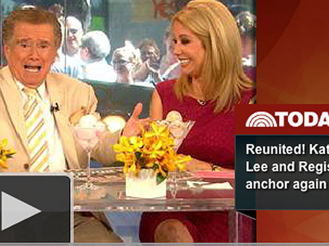 Video! Regis and Kathie Lee Reunite