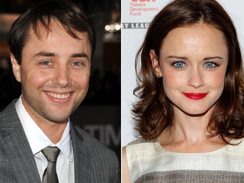 'Mad Men's' Alexis Bledel and Vincent Kartheiser Spotted Kissing!