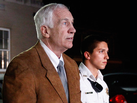 Jerry Sandusky Found Guilty on Child Molestation Charges