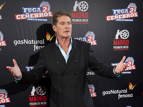 'Extra' Raw! On the Set of David Hasselhoff's 'Mr. Lean' Commercial