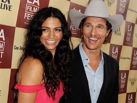 Camila and Matthew McConaughey Expecting Baby No. 3