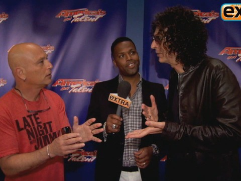 'AGT' Battle: Howard Stern vs. Howie Mandel