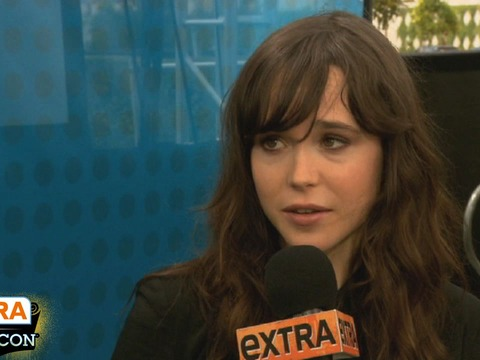 'Extra at Comic-Con': Gaming with Ellen Page