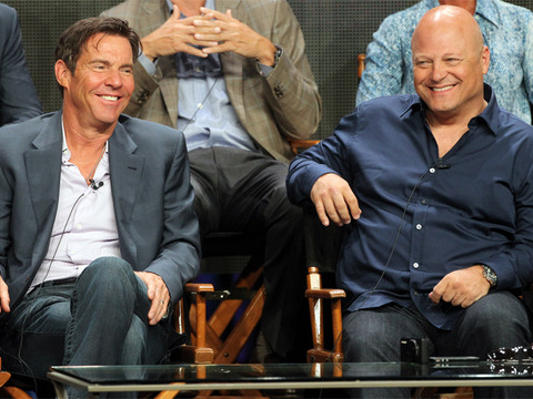 Dennis Quaid and Michael Chiklis Square Off in 'Vegas'