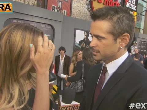 'Total Recall': Hanging with Jessica Biel, Kate Beckinsale and Colin Farrell