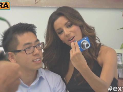 Eva Longoria Talks 'Project Imagina10n' with Canon