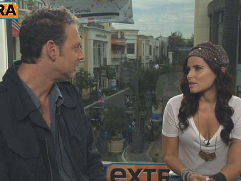Video! Nelly Furtado Hangs Out at The Grove