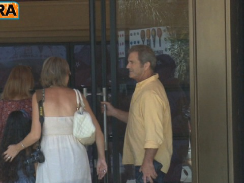 At The Grove! Mel Gibson Heads into Store