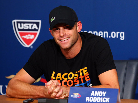 Andy Roddick to Hang Up His Racket after US Open