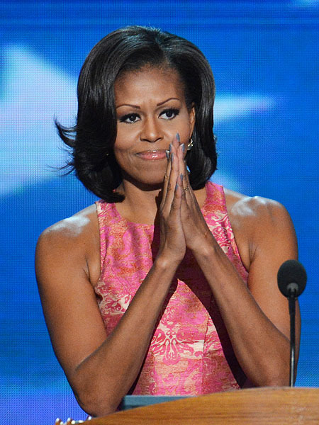 'Mom-in-Chief': Michelle Obama Delivers Powerful DNC ...