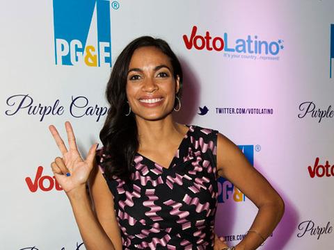 Voto Latino: Rosario Dawson Talks People Power and Politics
