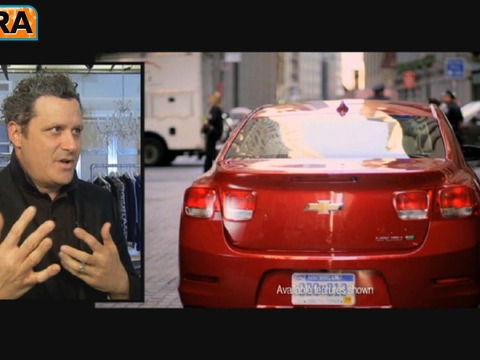 Isaac Mizrahi's Style Inspired by 2013 Chevy Malibu