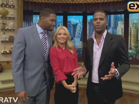 'Extra' Raw! On the 'Live! with Kelly and Michael' Set