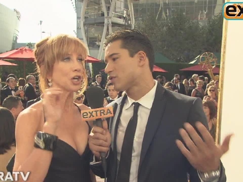 Kathy Griffin Cracks Up Mario Lopez
