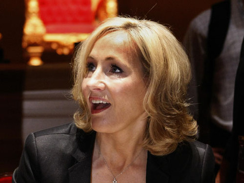 J.K. Rowling Teases New 'Harry Potter' Book
