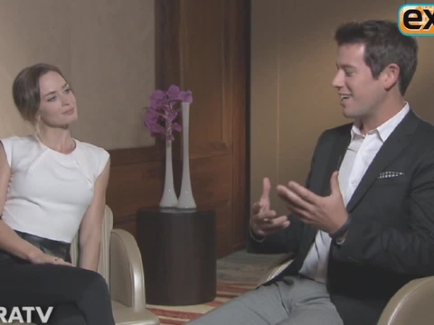 Emily Blunt on 'Looper' Accent: I Stalked Chris Cooper