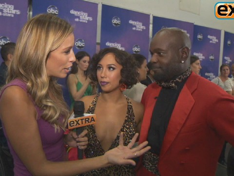 Backstage at 'DWTS: All-Stars' Week 2