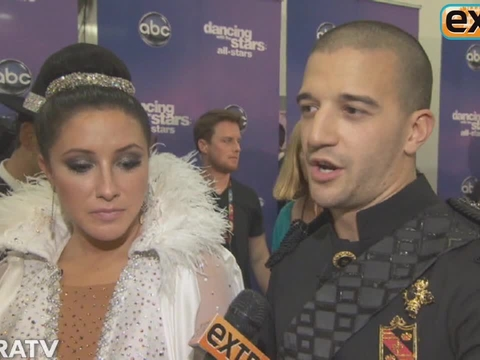 Backstage at 'DWTS: All-Stars' Week 3