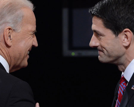 VP Joe Biden vs. Rep. Paul Ryan: Stars Poke Fun on Twitter