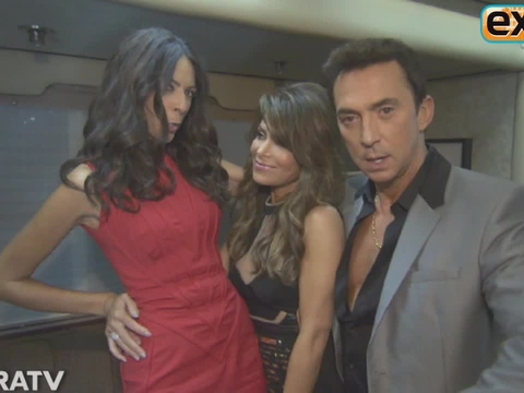 Backstage on 'DWTS' with Paula Abdul