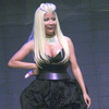 Extra Scoop: Nicki Minaj Strategically Avoids Nip Slip on Stage