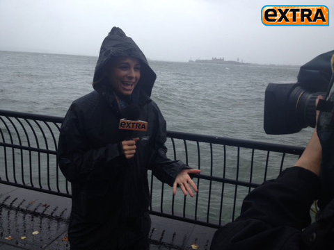 Maria Menounos' Superstorm Sandy Coverage: The Aftermath
